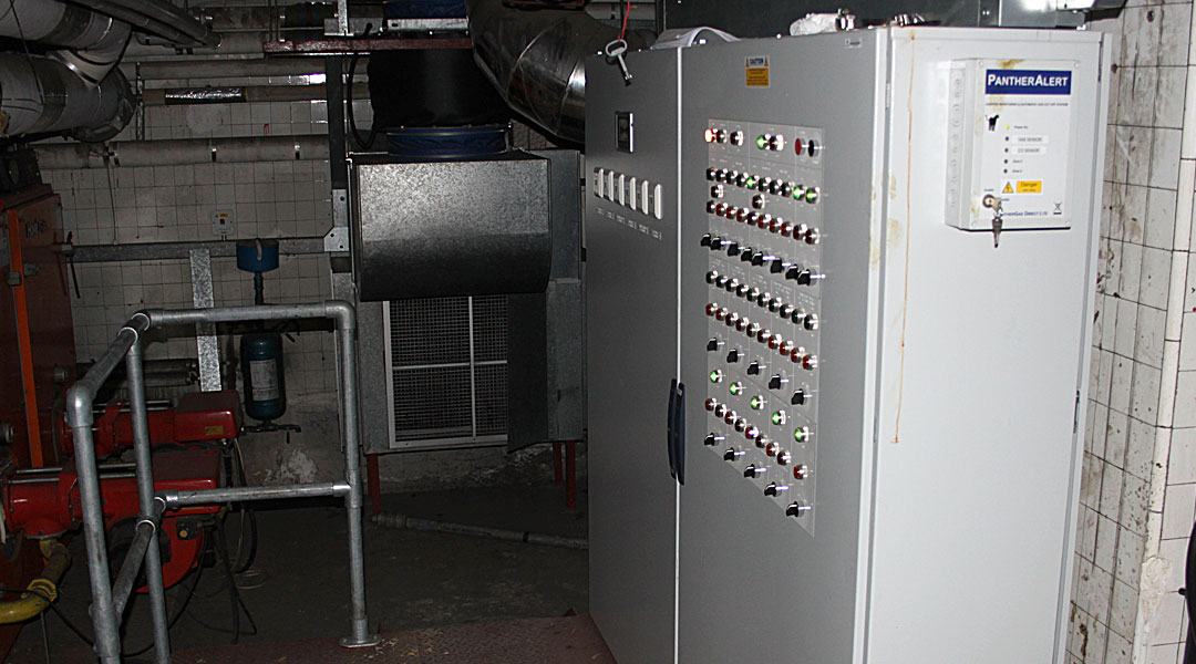 ilford town hall boiler project